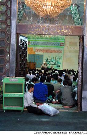 اعتکاف دانشگاه تهران